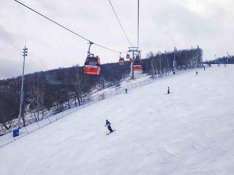 太舞滑雪小镇旅游景点图片