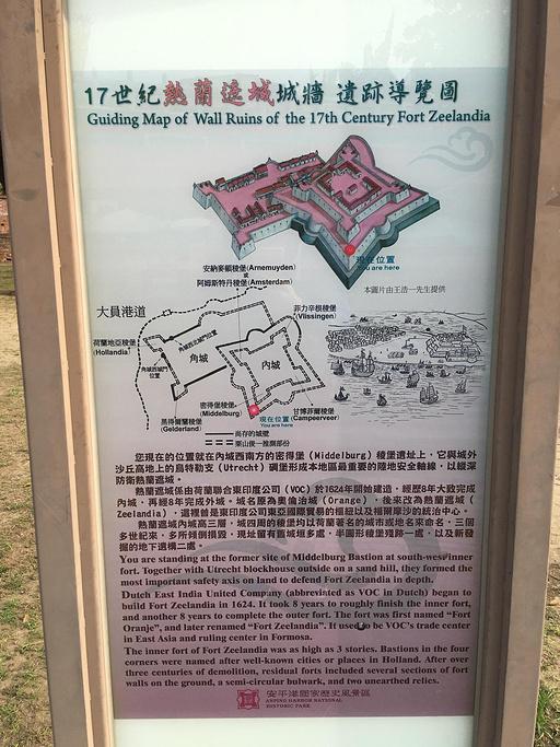安平古堡旅游导图