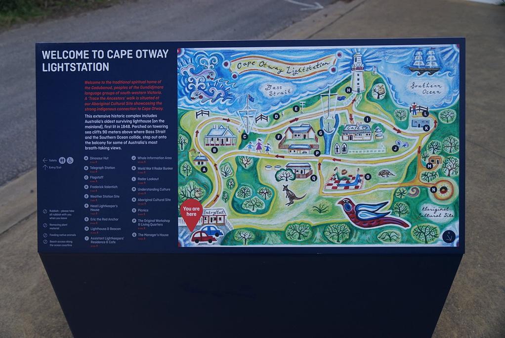 奥特威角灯塔旅游导图