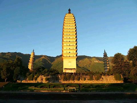 崇圣寺三塔文化旅游区旅游景点攻略图