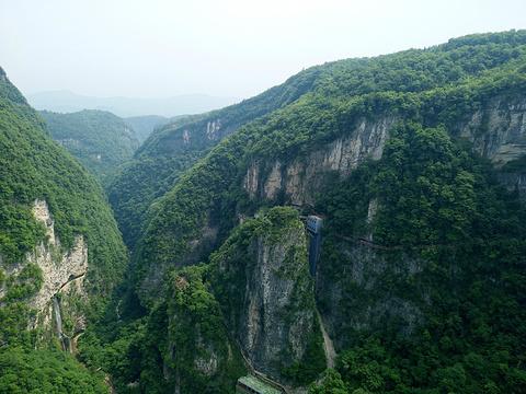 张家界大峡谷旅游景点图片