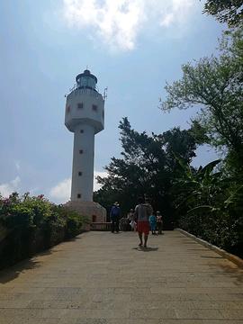 涠洲岛灯塔的图片