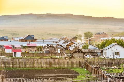黑山头古城旅游景点攻略图