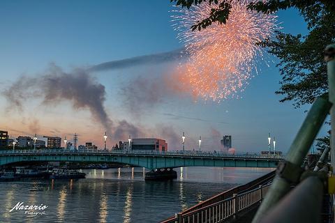隅田川花火大会旅游景点攻略图