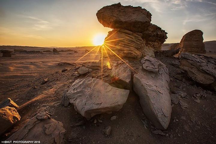 """""""若不是亲眼看见,你绝对不会相信竟然有这么好看的雅丹地貌。都说北疆看风光,南疆看人文_罗布泊""""的评论图片"""