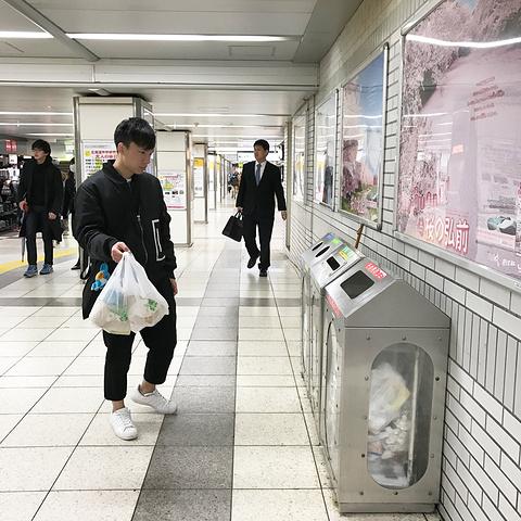 """""""伴着雨声,睁开眼,早上7:30便到了 东京 丰岛 区池袋。很难找到公用的垃圾桶,垃圾分类也是个小挑战_池袋""""的评论图片"""