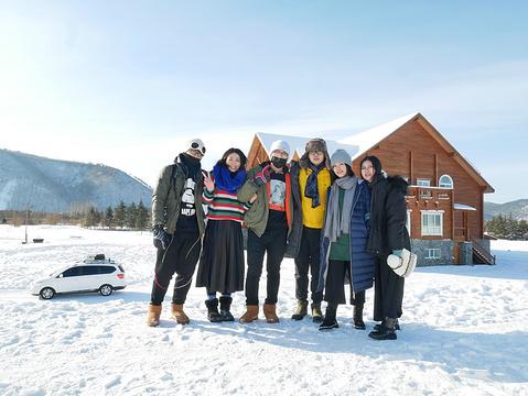 北极村圣诞滑雪场旅游景点攻略图