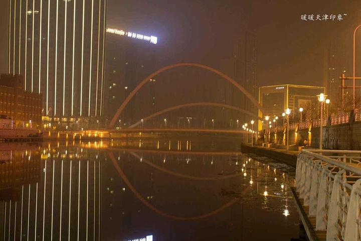 """""""(3)个人感受:夜游海河,欣赏夏季天津最美景色_海河""""的评论图片"""
