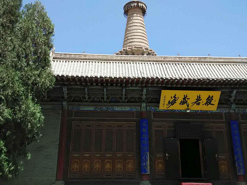 张掖大佛寺旅游景点图片