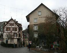 瑞士巴登小镇游