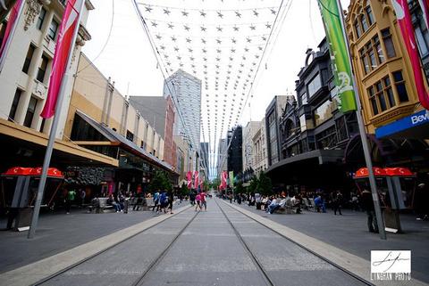 伯克街购物中心和墨尔本中心旅游景点攻略图