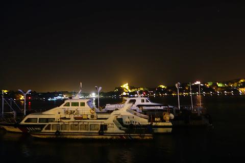 鹭江夜游旅游景点攻略图