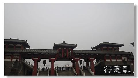 阿房宫遗址旅游景点攻略图