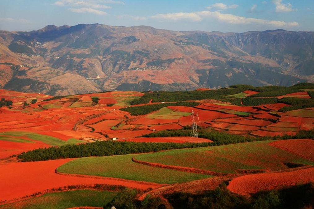 东川红土地,上帝遗失的调色板