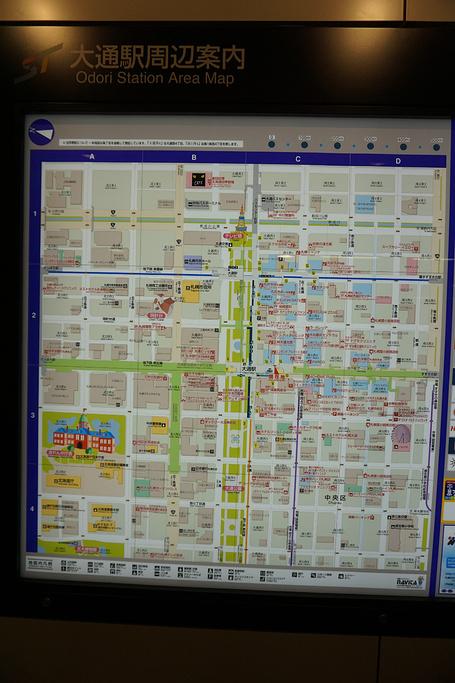 大通公园旅游导图