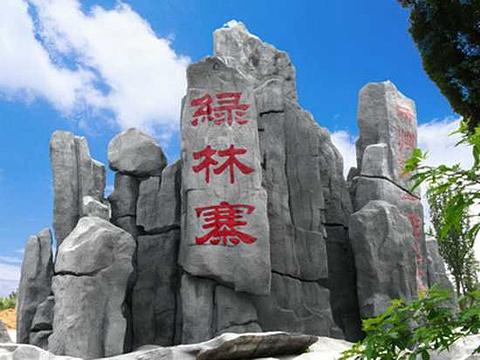 大洪山绿林寨旅游景点图片