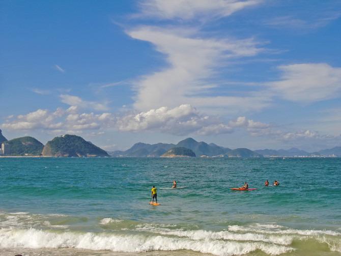 科帕卡巴纳海滩图片
