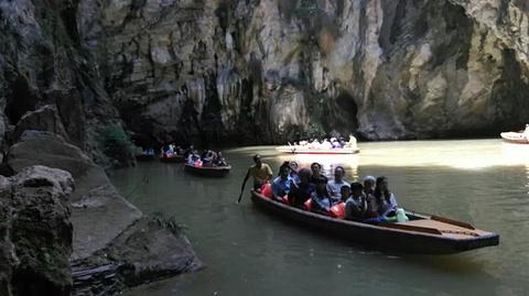 天河潭旅游度假区旅游景点攻略图