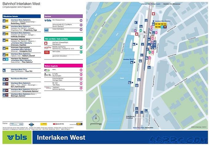 Interlaken West火车站图片