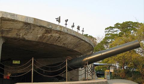 胡里山炮台旅游景点攻略图