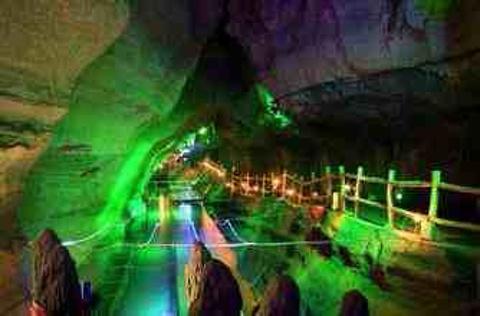 地下大峡谷旅游景点攻略图