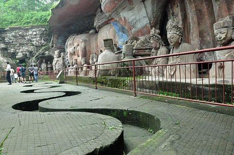 大足石刻旅游景点攻略图