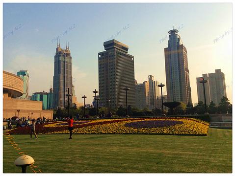 上海人民广场旅游景点攻略图