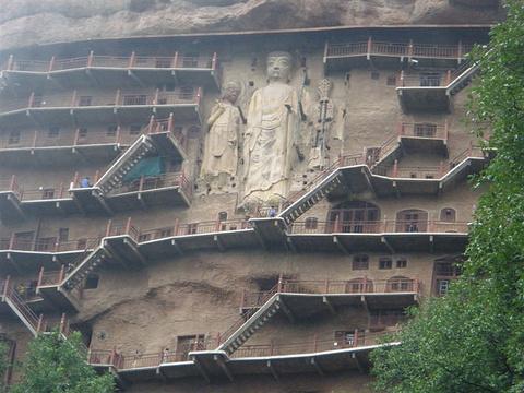 麦积山石窟旅游景点攻略图