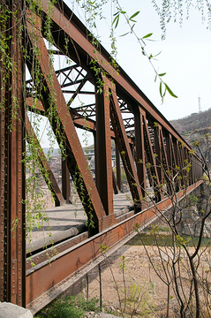 乏驴岭铁桥旅游景点攻略图