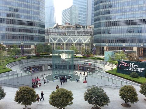 国金中心商场旅游景点攻略图