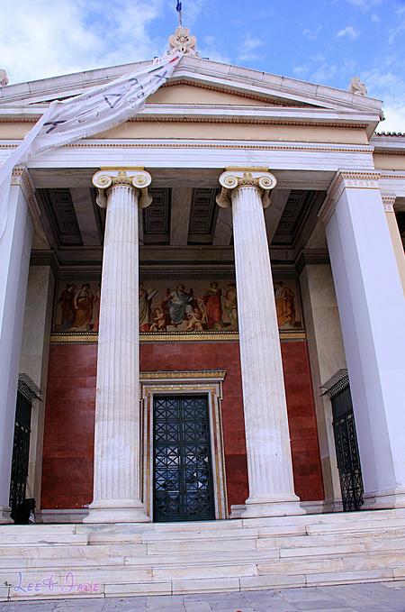 雅典大学图片