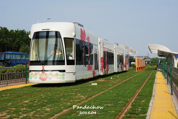 有轨电车THZ1线图片