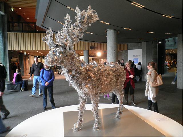 """""""我到现在都没有搞清楚维多利亚国立艺术馆和..._伊恩·波特中心:澳大利亚维多利亚国家美术馆""""的评论图片"""