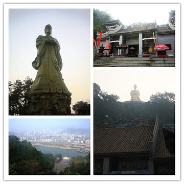 大竹龙母庙旅游景点攻略图