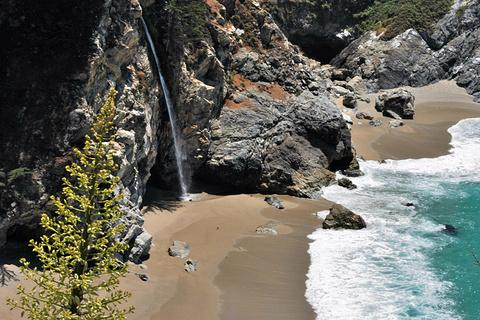 McWay瀑布旅游景点攻略图