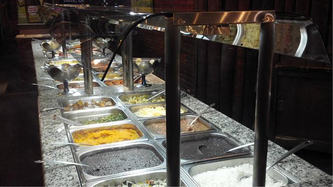 装修独特的午餐饭店图片
