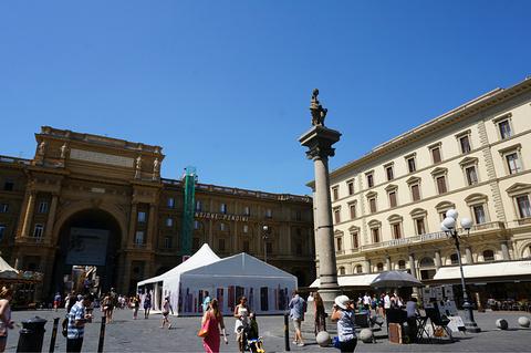 佛罗伦萨中央皮具市场旅游景点攻略图