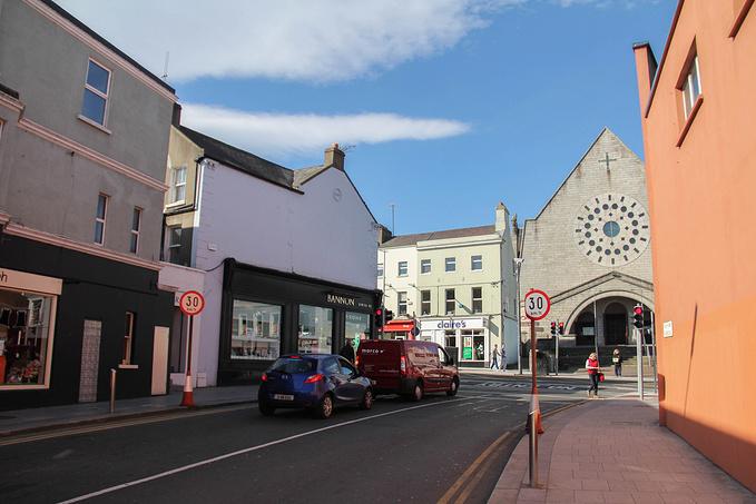 Bray小镇的街头图片