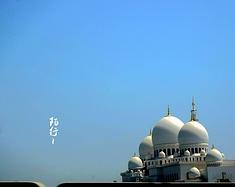 面纱笼罩的迪拜城