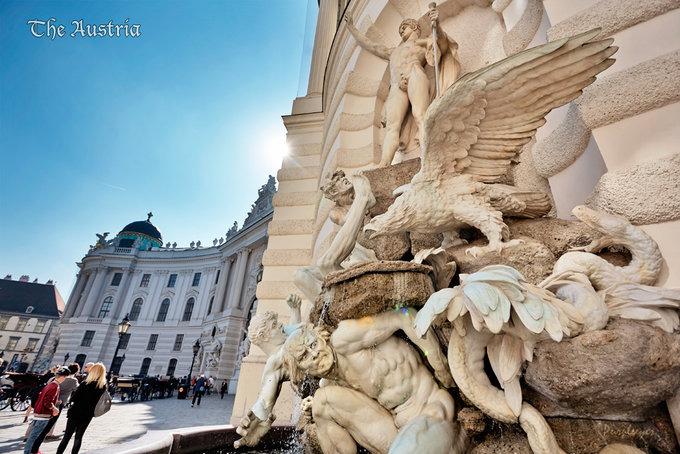 霍夫堡皇宫门口图片