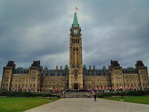 加拿大国会旅游景点图片