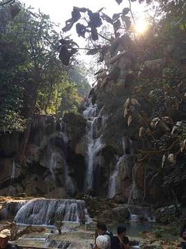 光西瀑布旅游景点攻略图