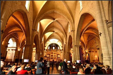 瓦伦西亚主教堂和塔楼旅游景点攻略图