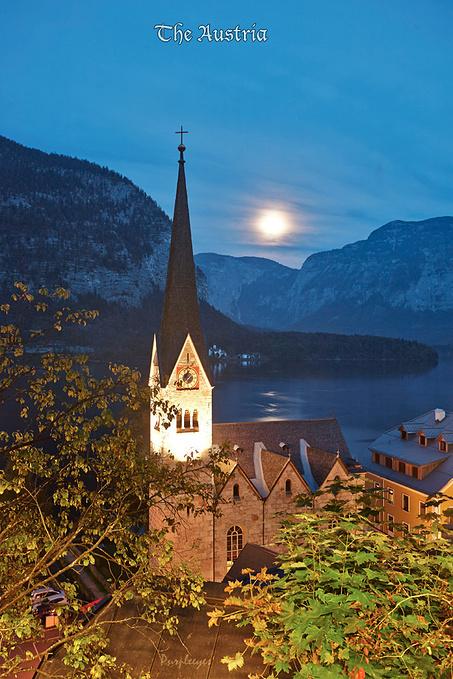 美丽夜景图片