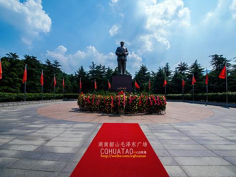 毛泽东故居旅游景点图片