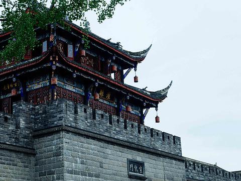灌县古城旅游景点图片