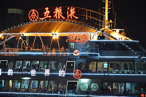 黄浦江游览船旅游景点攻略图