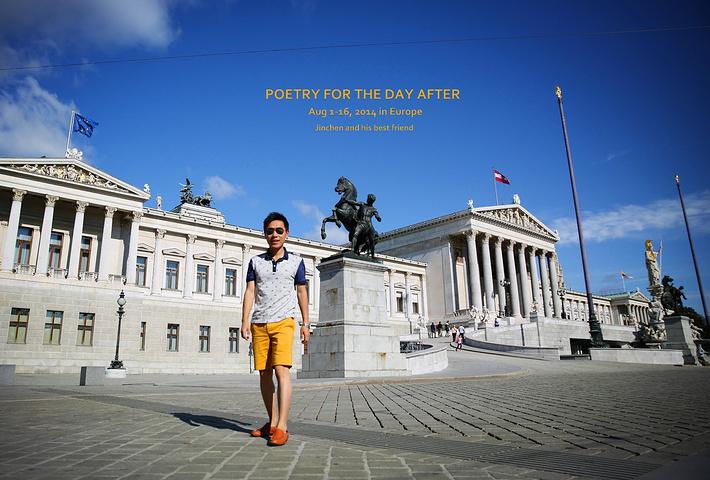 """""""...游览了···出了地铁先来到了Österreichisches Parlament奥地利国会大厦_奥地利国会大厦""""的评论图片"""