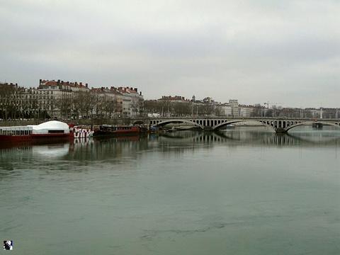 罗纳河畔旅游景点图片