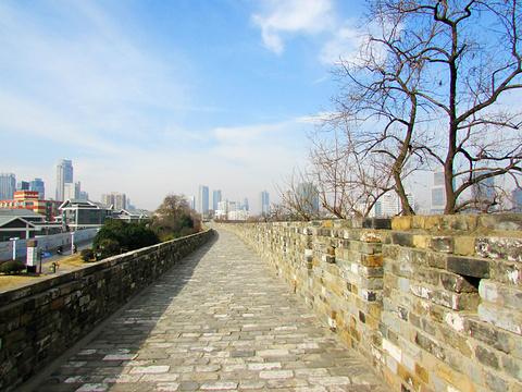 南京城墙的图片